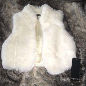 Daisy Fuentes Faux Fur Vest